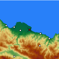 Nearby Forecast Locations - Terme - Map