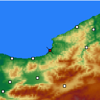 Nearby Forecast Locations - Alaplı - Map