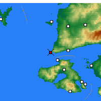 Nearby Forecast Locations - Babakale - Map