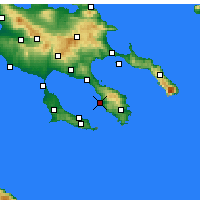 Nearby Forecast Locations - Neos Marmaras - Map