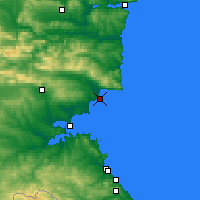 Nearby Forecast Locations - Nesebar - Map