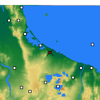 Nearby Forecast Locations - Te Puke - Map