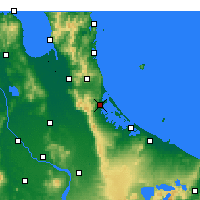 Nearby Forecast Locations - Katikati - Map