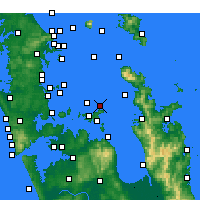 Nearby Forecast Locations - Gannet Rock - Map