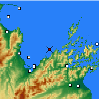 Nearby Forecast Locations - Whangamoa - Map