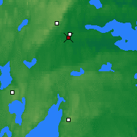 Nearby Forecast Locations - Örebro - Map