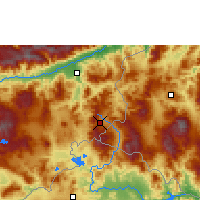 Nearby Forecast Locations - Esquipulas - Map