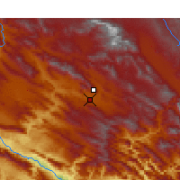 Nearby Forecast Locations - Khorramabad - Map