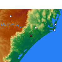 Nearby Forecast Locations - Criciúma - Map