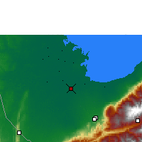 Nearby Forecast Locations - Santa Bárbara del Zulia - Map