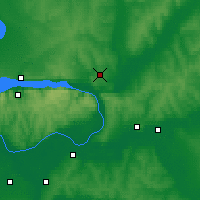 Nearby Forecast Locations - Samara - Map