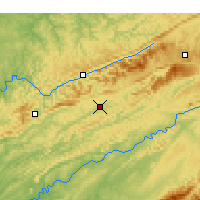 Nearby Forecast Locations - Jonesville - Map