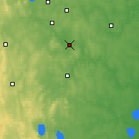 Nearby Forecast Locations - Aramil - Map