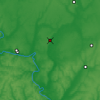 Nearby Forecast Locations - Bobrov - Map