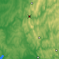 Nearby Forecast Locations - Gubakha - Map