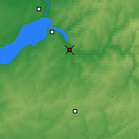 Nearby Forecast Locations - Iskitim - Map