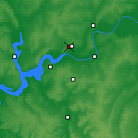 Nearby Forecast Locations - Yelabuga - Map