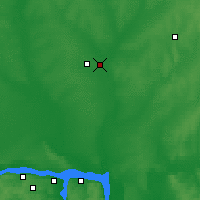 Nearby Forecast Locations - Yoshkar-Ola - Map
