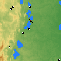 Nearby Forecast Locations - Kasli - Map