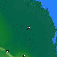 Nearby Forecast Locations - Kizlyar - Map