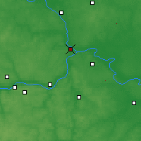 Nearby Forecast Locations - Kolomna - Map