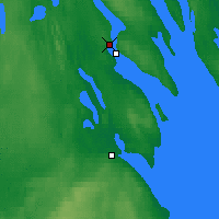 Nearby Forecast Locations - Kondopoga - Map