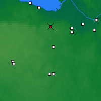 Nearby Forecast Locations - Krasnoye Selo - Map