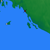 Nearby Forecast Locations - Pitkyaranta - Map