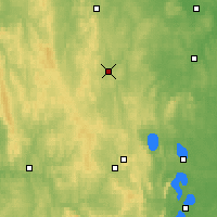 Nearby Forecast Locations - Polevskoy - Map