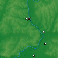 Nearby Forecast Locations - Sarapul - Map