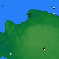 Nearby Forecast Locations - Sosnovy Bor - Map