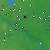 Nearby Forecast Locations - Staraya Kupavna - Map