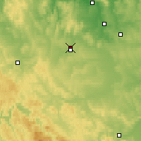 Nearby Forecast Locations - Uyar - Map