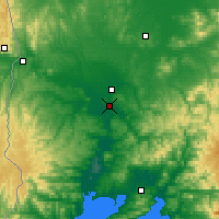 Nearby Forecast Locations - Ussuriysk - Map