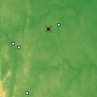 Nearby Forecast Locations - Verkhnyaya Salda - Map