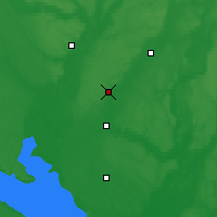 Nearby Forecast Locations - Khorol - Map