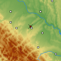 Nearby Forecast Locations - Kalush - Map