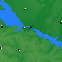 Nearby Forecast Locations - Kremenchuk - Map