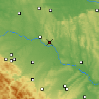 Nearby Forecast Locations - Novyi Rozdil - Map