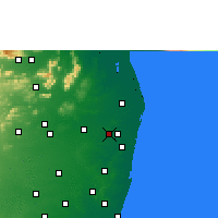 Nearby Forecast Locations - Avadi - Map