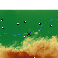 Nearby Forecast Locations - Guwahati - Map