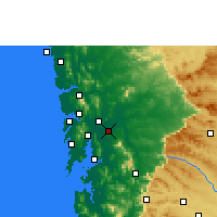 Nearby Forecast Locations - Kalyan-Dombivli - Map