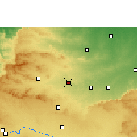 Nearby Forecast Locations - Malegaon - Map