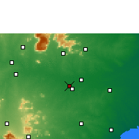 Nearby Forecast Locations - Tiruchirappalli - Map
