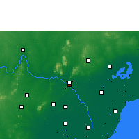 Nearby Forecast Locations - Vijayawada - Map