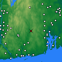Nearby Forecast Locations - Killingly - Map