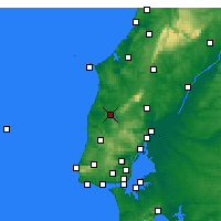 Nearby Forecast Locations - Torres Vedras - Map