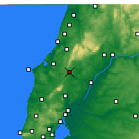 Nearby Forecast Locations - Rio Maior - Map