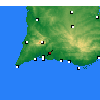 Nearby Forecast Locations - Silves - Map