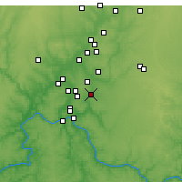 Nearby Forecast Locations - Loveland - Map